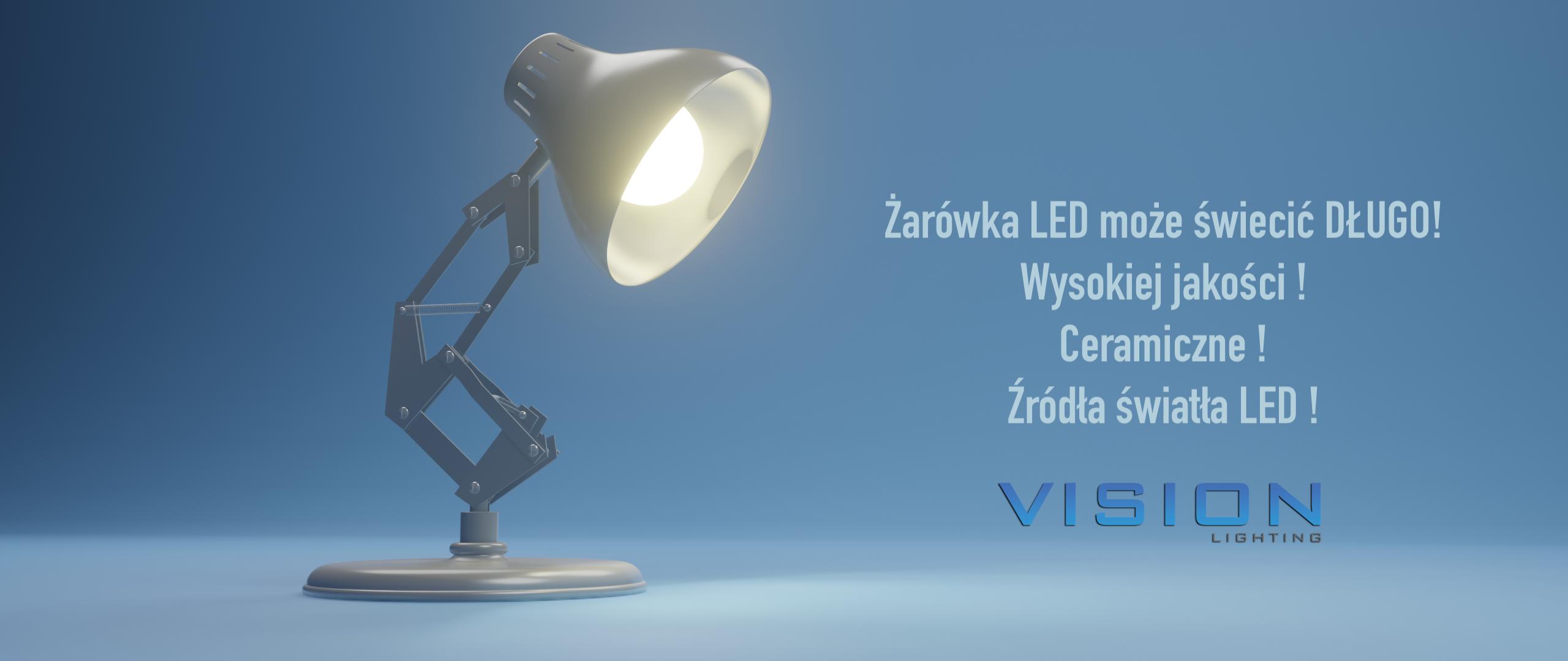 wysokiej jakości żarówki led Vision Lighting